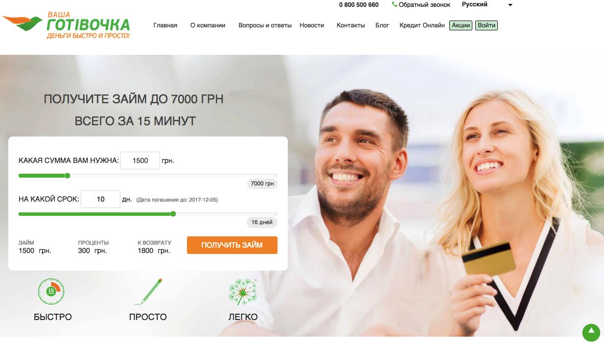VashaGotivochka кредит